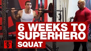 6 Weeks to Superhero Squat