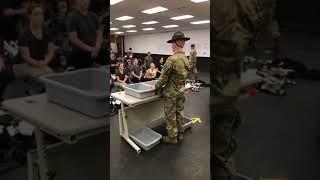 Fort Jackson Shakedown at Basic Training