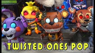 Ouça Fnaf Five Nights at Freddys Funko POP Figures 2018 Twisted Ones First Look Toy Fair