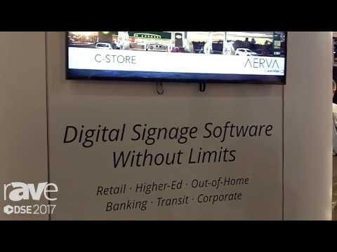 DSE 2017: Aerva Showcases AerWave Cloud Base Software