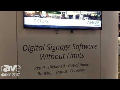 DSE 2017: Aerva Showcases AerWave Cloud Base Software