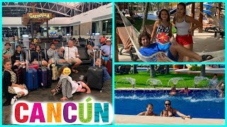 TRAVELING TO CANCUN , MEXICO | SISTERFOREVERVLOGS #555