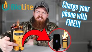 Can You Charge Your Phone With FIRE??? (BioLite CampStove 2)
