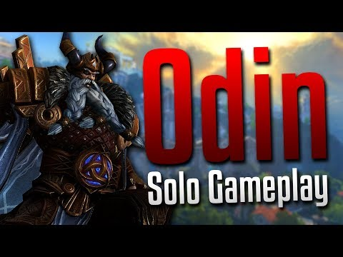 Smite: Never Underestimate the Bird Bomb!- Odin Solo Gameplay
