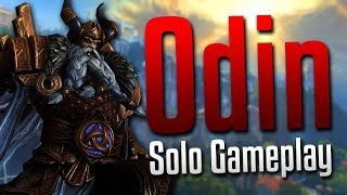 Smite: Never Underestimate the Bird Bomb!- Odin Solo Gameplay