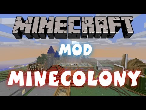 Minecraft - Mods: Minecolonies   Create Your Own Settlement!