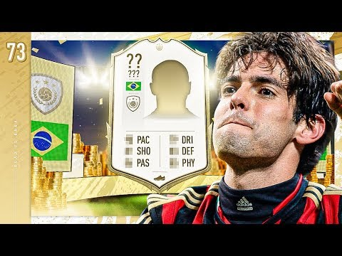 BRAZILIAN IN MY MID ICON PACK!! - FIFA 20 KAKA ROAD TO GLORY #73