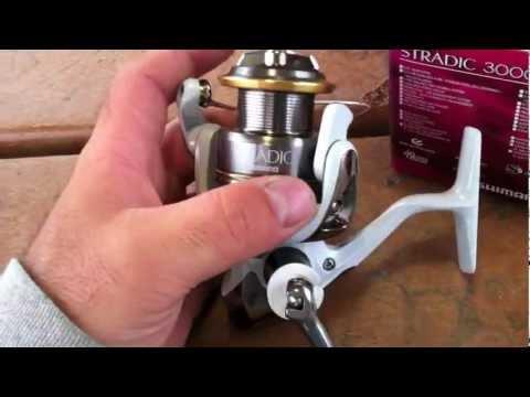 Shimano Stradic 3000FJ Spinning Reel Unboxing (TeamRippnLipz1)