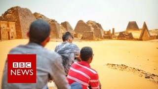 Sudan's forgotten pyramids - BBC News