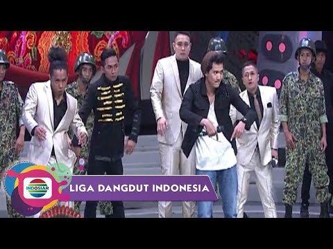 PECAH! Aksi Dance Popping RIDWAN-FIRLY Bersama Para Pengisi Acara   LIDA Top 6
