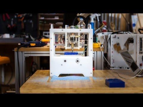 Meet Othermill. a Desktop CNC Milling Machine