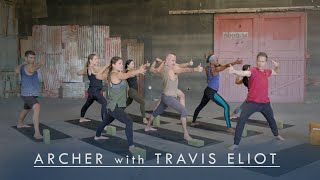 Inner Dimension TV - Power Yoga 'Archer' (Full Class) with Travis Eliot