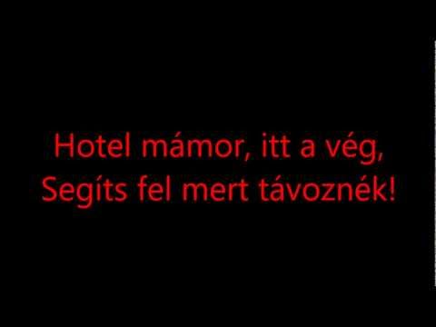 Hooligans - Hotel Mámor (lyrics) HD