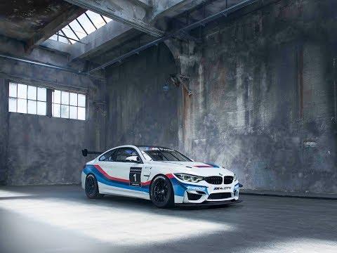 BMW M4 GT4 ready to race