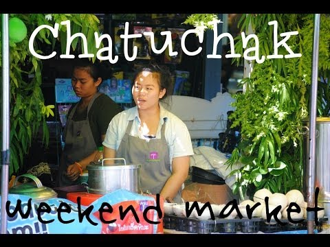 Chatuchak weekend market – Bangkok's huge market!