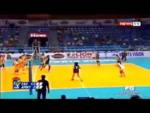 Cagayan Valley vs Philippine Army - October 8 ,2014 [ Set ...