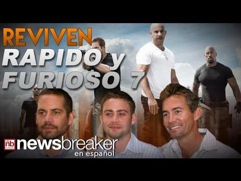 RAPIDO Y FURIOSO 7: Los Hermanos del fallecido actor Paul Walker van a Filmar Escenas para...
