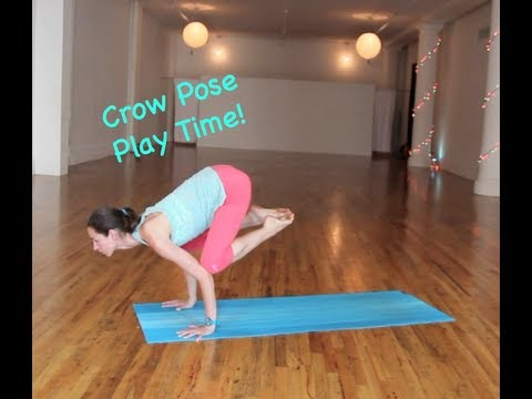 Crow Pose Play Time. . Strala Syle!