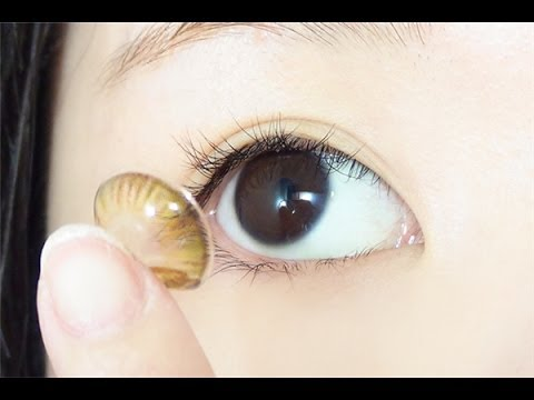 How to insert a contact lens essay