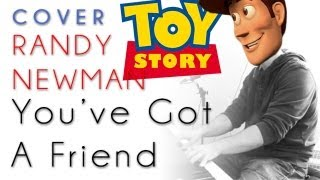 Toy Story - You Got A Friend (piano cover & tutorial) - Randy Newman