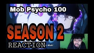 Mob Psycho 100 II (season 2) anime PV trailer [ Reaction ]