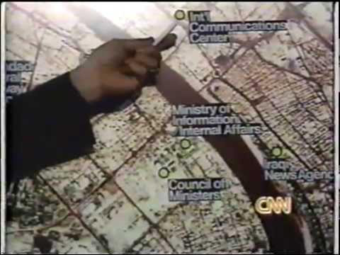 Operation Desert Storm - CNN Live News Coverage - Part 9