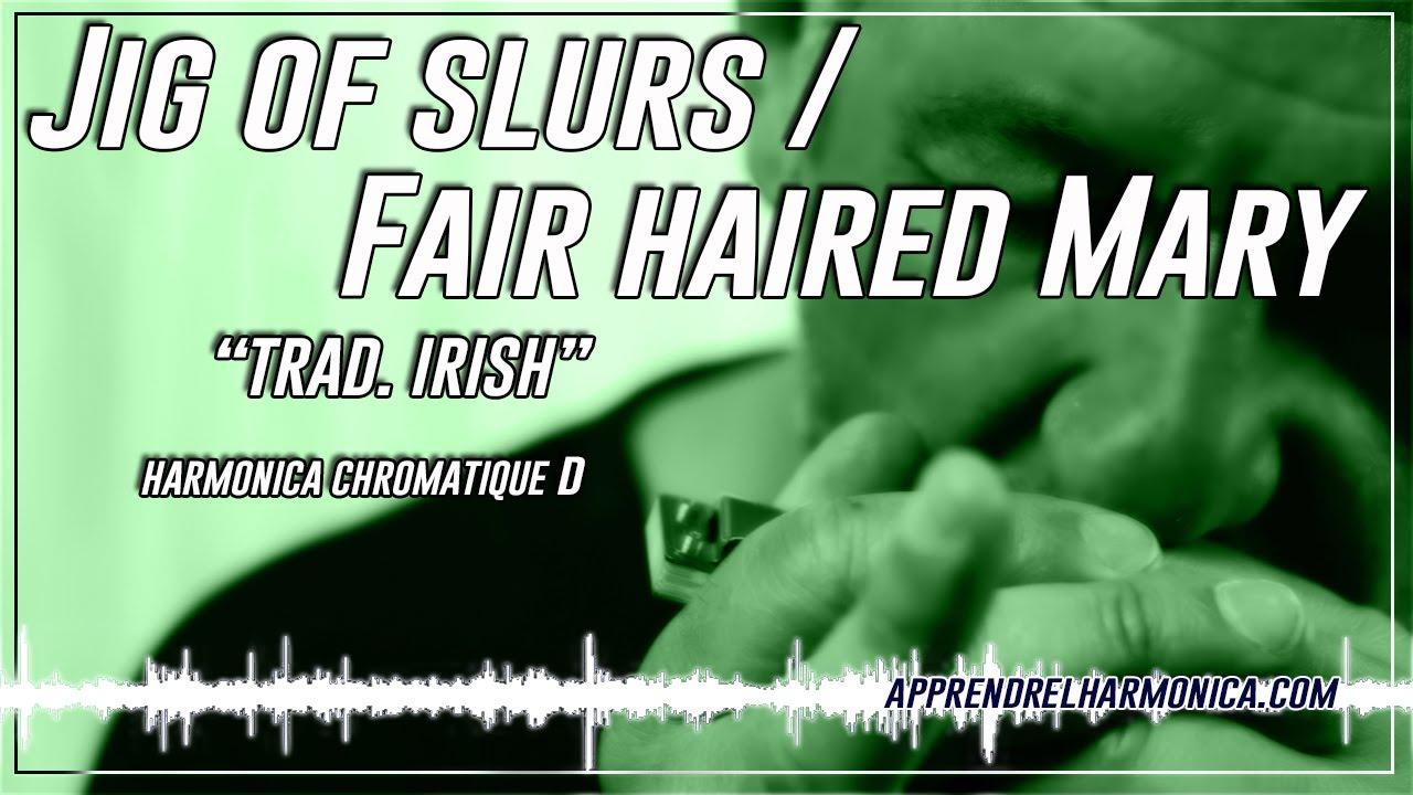 u0026quot;Jig of slurs / Fair haired Maryu0026quot; - Harmonica chromatique D - Paul Lassey - YouTube