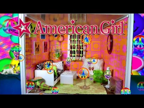 American Girl Mini Doll House Groovy Room Minis House Tour Videos Décor Ideas Toys Reviews Movies