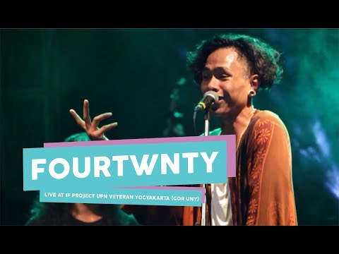 HD  Fourtwnty   Zona Nyaman  live at IF PROJECT  GOR UNY  September 2017