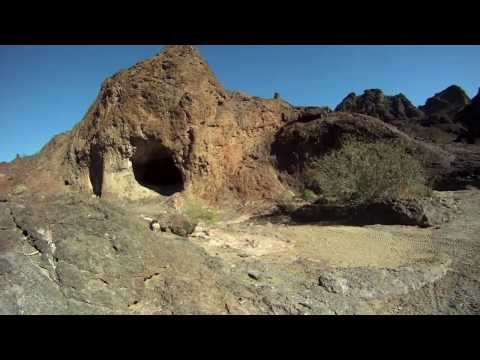 Cave near Lake Havasu and Parker AZ