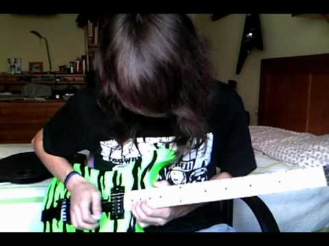 17 girls in a row Steel Panther solo cover (pickupdeth)