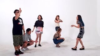 150812 WONDER GIRLS - Weekly Idol (Random Dance Play cut) [원더걸스]