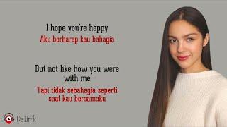 Download lagu Happier - Olivia Rodrigo (Lirik Lagu Terjemahan) - TikTok I hope you're happy but don't be happier