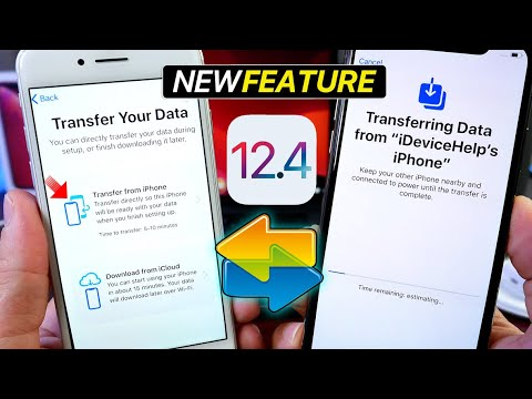 iOS 12.4 NEW Data Transfer FEATURE - iPhone Migration How it Works!