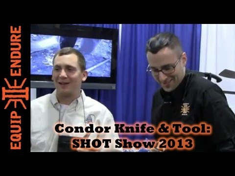 Condor Knife and Tool Interview with Joe Flowers. SHOT Show 2013