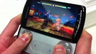Xperia Play (PSP Phone) in GDC 2011