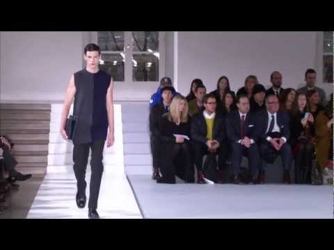 Jil Sander Men's Fall/Winter 2013 2014 Full Fashion Show.