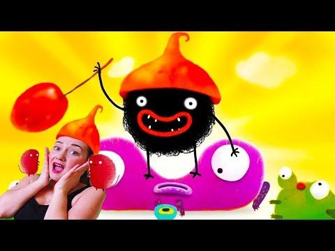 Приключения ЧЕРНОГО ЗВЕРЬКА МАЛЫШ Chuchel игра мультик детский летсплей video games for kids
