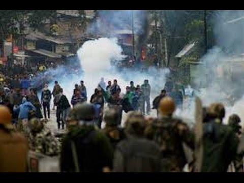 Protest Continues In Anantnag District of Kashmir