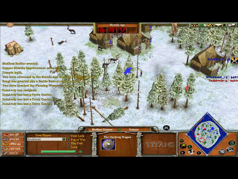 Brickhead (Thor) vs IamAvely (Set)  Age of Mythology The Titans