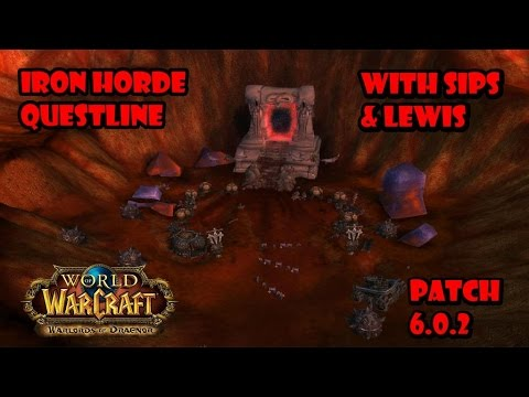 World of Warcraft 6.0.2 Blasted Lands Pre Quests Team Double Dragon