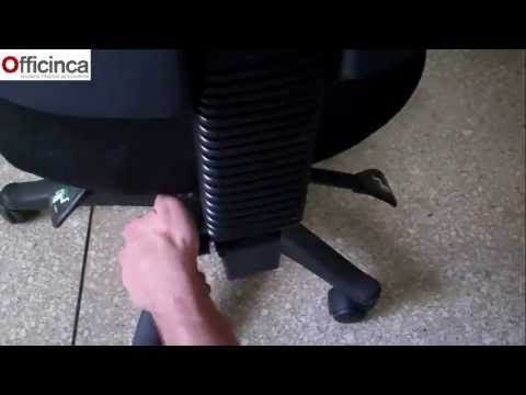 Como armar una silla ergonomica de oficina por officinca for Silla ergonomica oficina