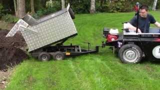 F1 garden tractor