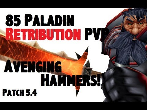 Doofensmirtz 2 - Level 85 Retribution Paladin Twink Pvp - Mop Patch 5.4 - [1080p Hd] video