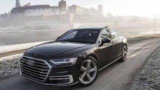 Представительный седан премиум-класса Audi A8 2019