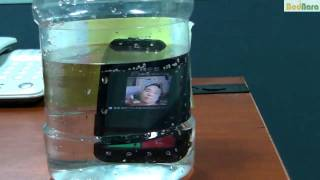 Motorola DEFY waterproof test