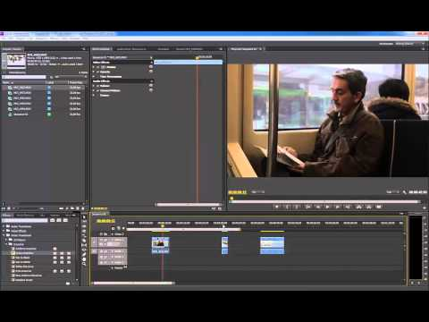 Tutorial Adobe Premiere Pro CS6 - Las transiciones P.2