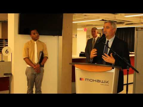 BMO Financial Group announces $300,000 donation to Mohawk's Fennell Campus Renewal