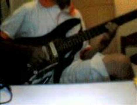 video Pupus outro guitar solo dewa cover