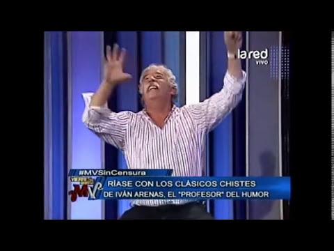 Iván Arenas cuenta el chiste del Arca de Noé